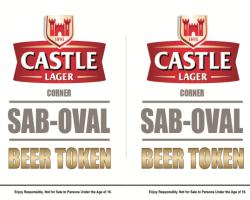 SAB - Castle Lager poster design