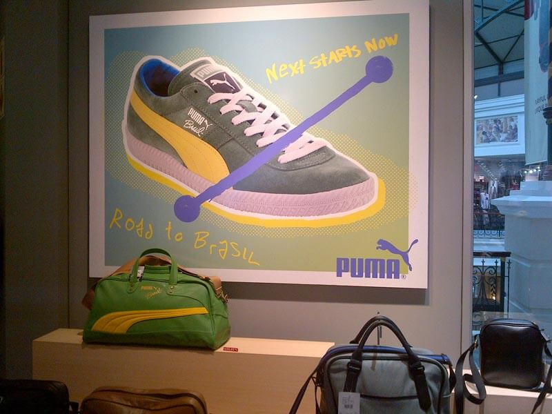 Our recent work for Puma and Greenpop