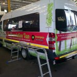 Vehicle Wrapping for Greenpop2