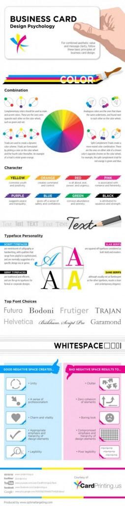 Business Cards Design Psychology