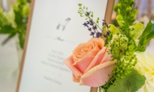 wedding menus