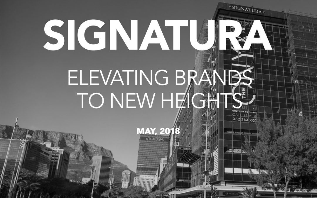 Signatura – Elevating Brands to New Heights