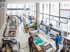 printing work spaces