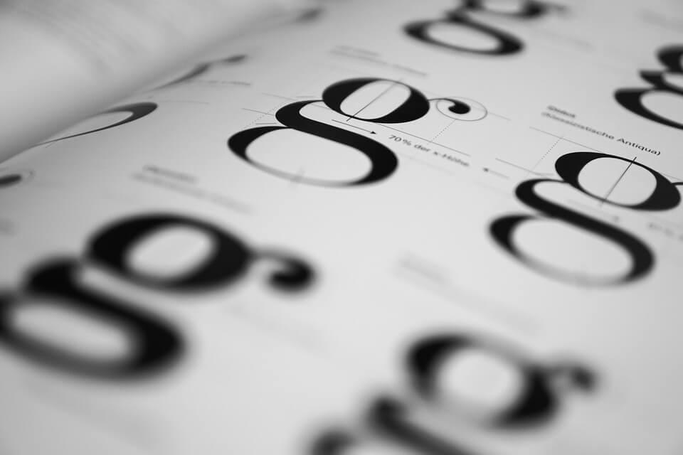 Typography terminology – Understanding the lingo…